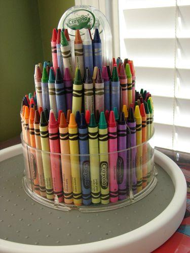 Crayola Crayon Tower