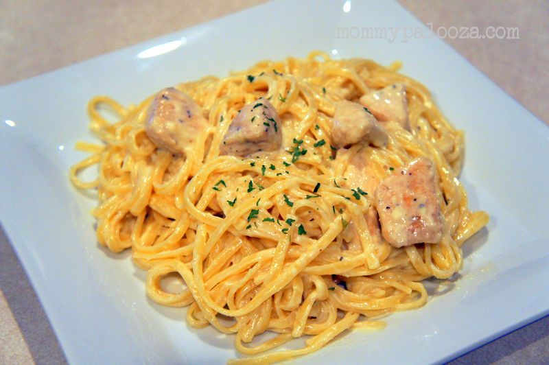 Recipe Olive Garden Inspired Chicken Fettucine Alfredo Pasta Mommypalooza