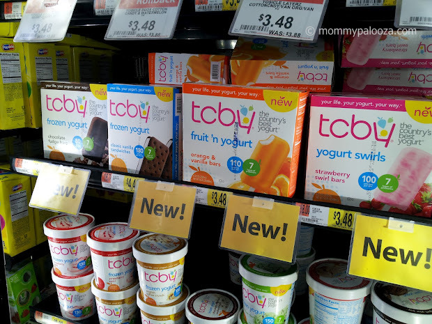 TCBY frozen novelties found in Walmart stores #TCBYGrocery #CBias