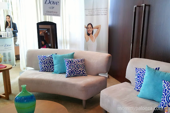 Vive Mejor beauty lounge by Dove