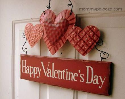 Valentine's Day decor is fun!