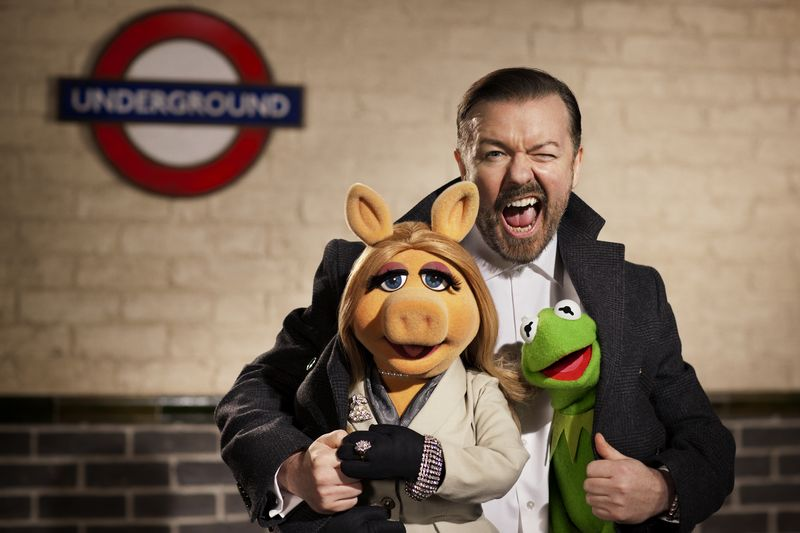 The Muppets. . . Again in theaters March 21, 2014
