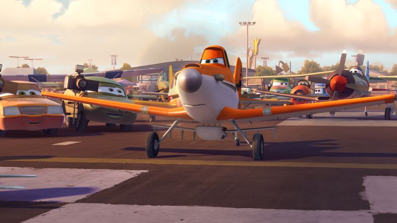 Dane Cook as the voice of Dusty in Disney's 'Planes' movie