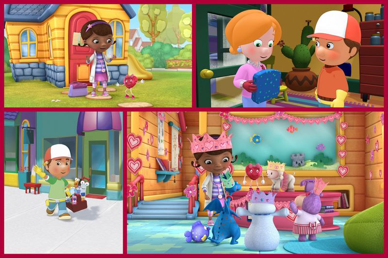 "Disney Junior Celebrates Valentine'​s Day with Themed Episodes of ""Doc McStuffins​"" and ""Handy Manny"""