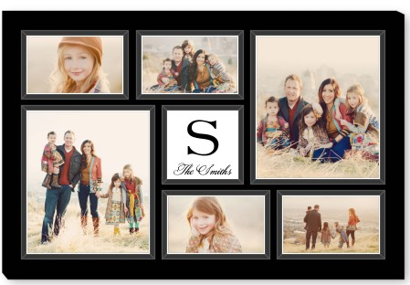 Shutterfly family canvas