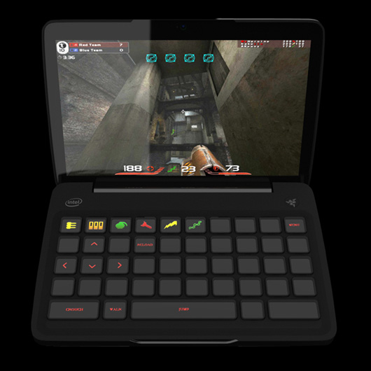 razer blade razer switchblade gaming laptop. Black Bedroom Furniture Sets. Home Design Ideas