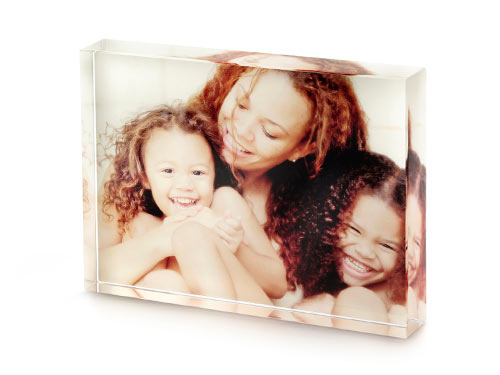 Shutterfly acrylic photo block