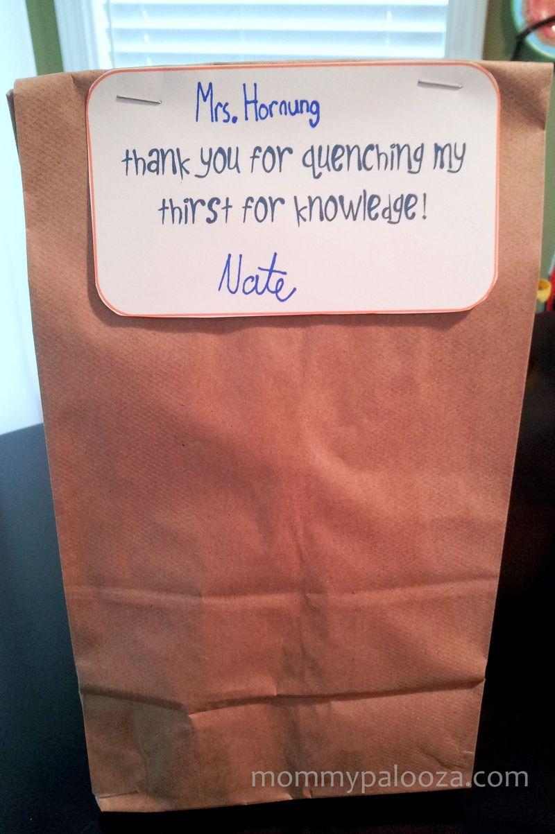 teacher appreciation idea