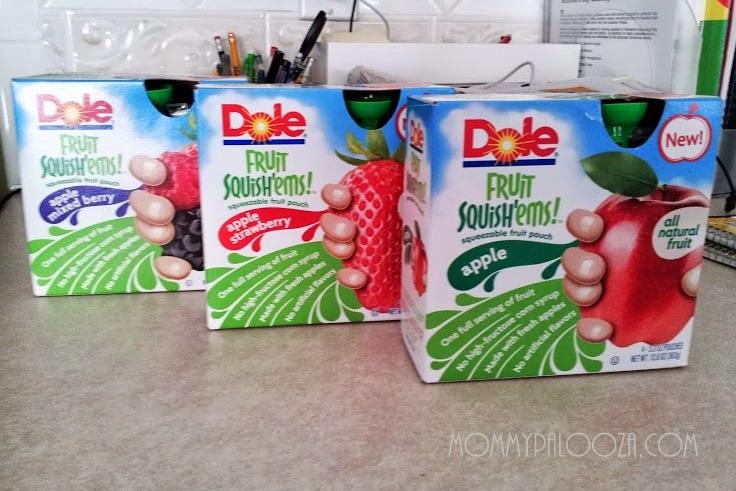 Dole Fruit Squish'ems!