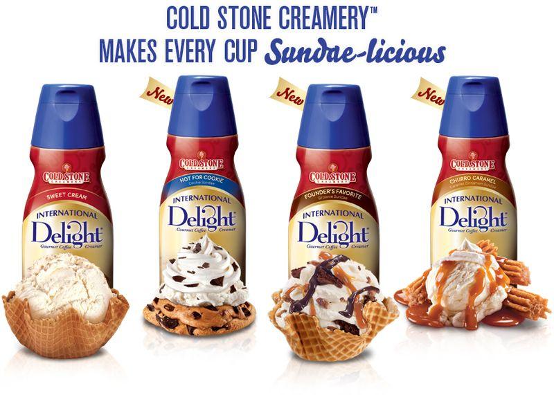 Cold Stone Creamery International Delight