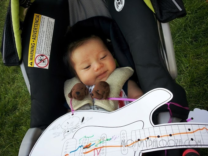 Andy's first festival!