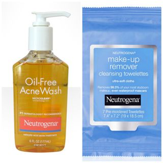 Neutrogena Oil-Free Acne Wash and Make-Up Remover Towelettes