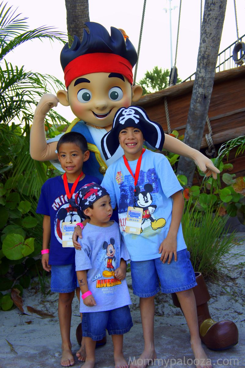 Jake and The Neverland Pirates at Disney