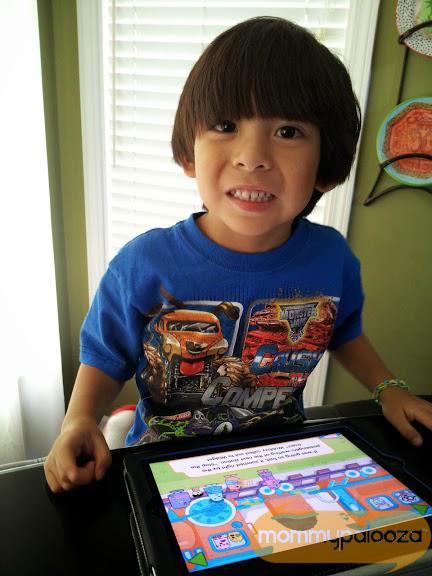 Wubbzy y El Tren app for iPad