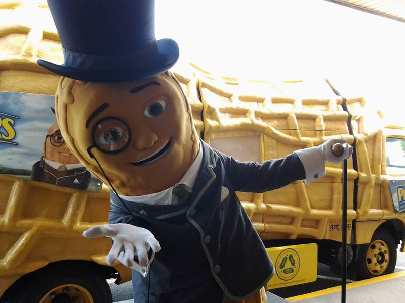 Mr. Peanut's NUTmobile