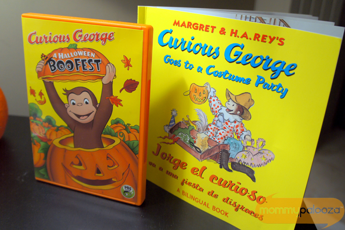 Pbs Kids Halloween Dvd.Celebrate Halloween With Curious George S Boofest On Pbs Kids And