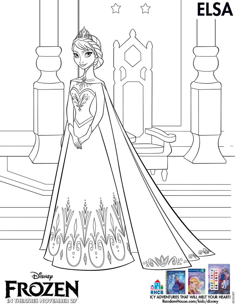 New Disneys FROZEN Free Printable Activity And Coloring Sheets