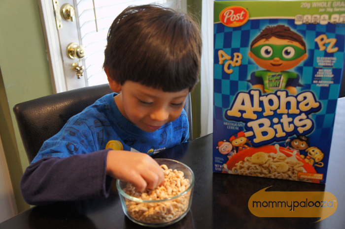Alpha-Bits cereal printable fall activity