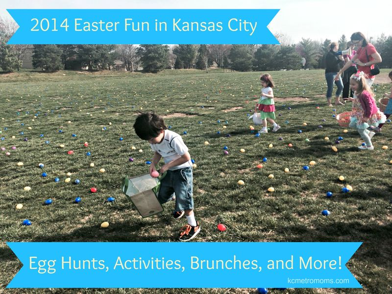 2014 Easter Family Fun Events, Egg Hunts, in Kansas City, Johnson County, and beyond!