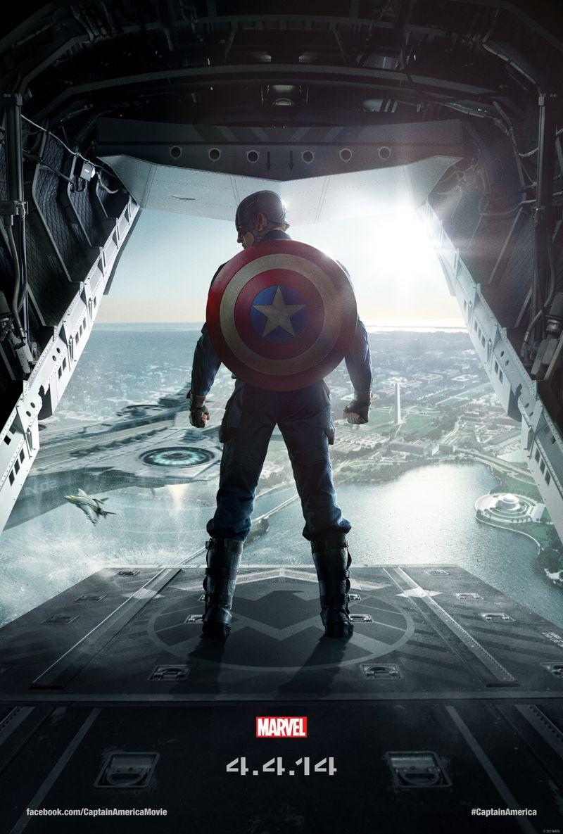 Marvel's Captain America movie poster