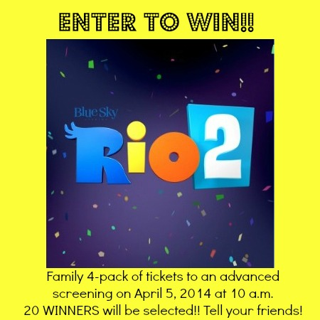 Rio 2 Giveaway