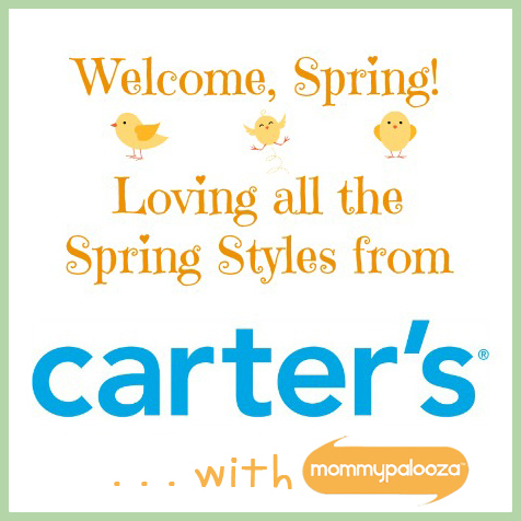 Springtime Outfits from Carter's and Giveaway!