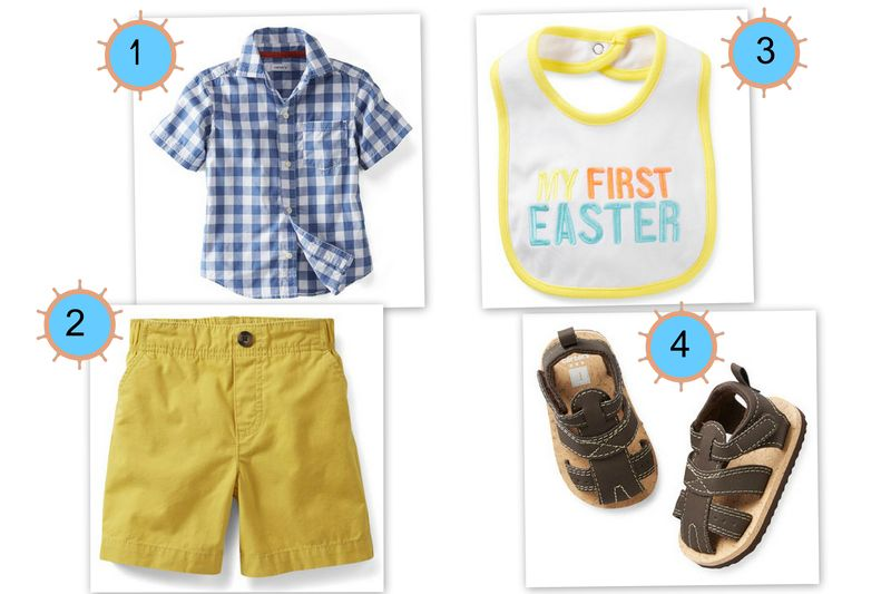 Carter's Boys Spring Styles for Easter Sunday and Everyday Fun