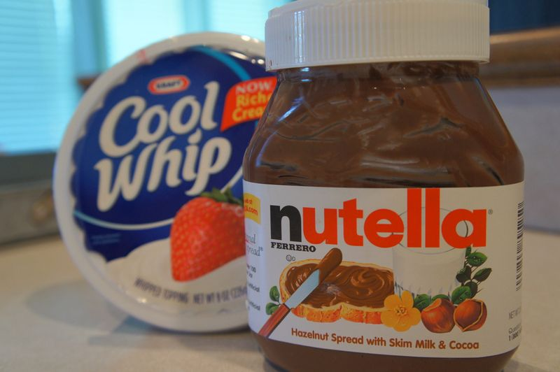 Nutella Cool Whip Fruit Dip Recipe