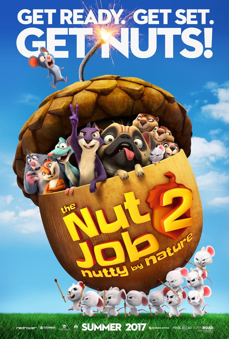 The Nut Job 2: Nutty By Nature Surly - the Squirrel Visits Kansas City!