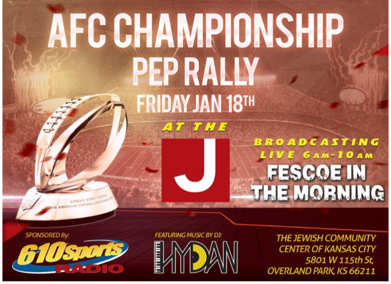 KC Chiefs AFC Championship Pep Rally