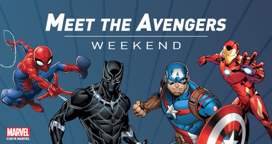 Meet the Avengers Weekend at the Kansas City Zoo